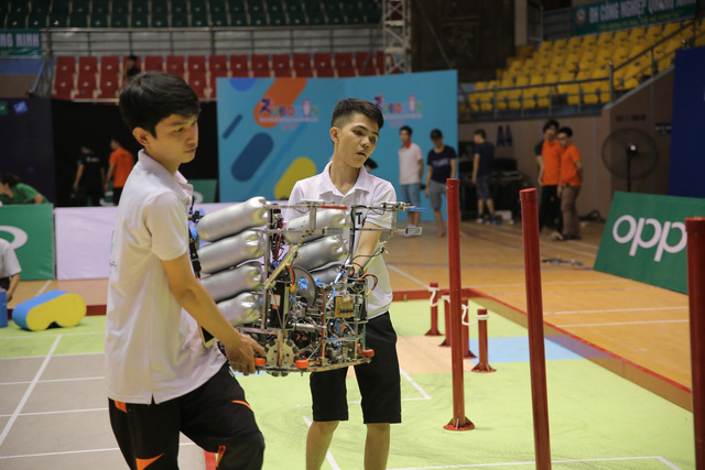 Robocon Việt Nam 2019: Nhiều robot MR2 thoát xác tại vòng chung kết - Ảnh 7.