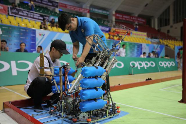 Robocon Việt Nam 2019: Nhiều robot MR2 thoát xác tại vòng chung kết - Ảnh 13.