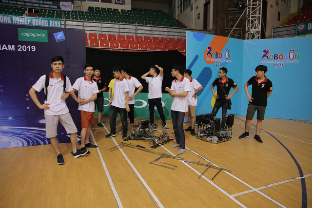 Robocon Việt Nam 2019: Nhiều robot MR2 thoát xác tại vòng chung kết - Ảnh 15.