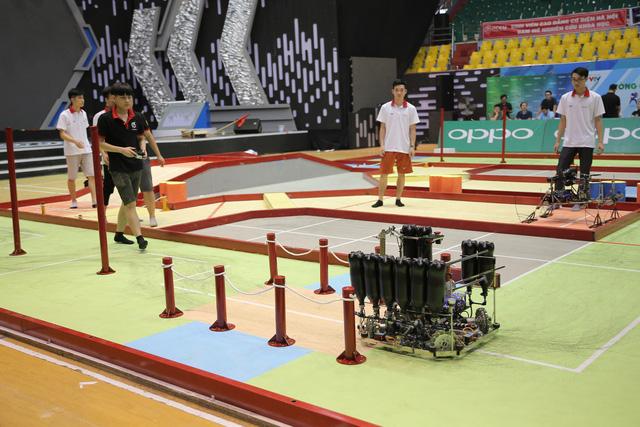 Robocon Việt Nam 2019: Nhiều robot MR2 thoát xác tại vòng chung kết - Ảnh 16.