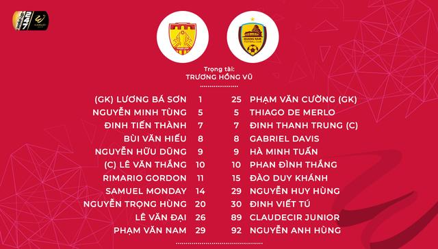 CLB Thanh Hóa 3-2 CLB Quảng Nam: Chiến thắng đầu tiên với màn rượt đuổi tỉ số ngoạn mục! - Ảnh 2.