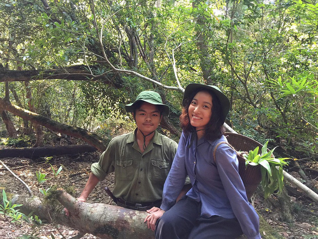 DV Hoàng Mai Anh trầy xước, bầm tím vì vai diễn mới - Ảnh 3.