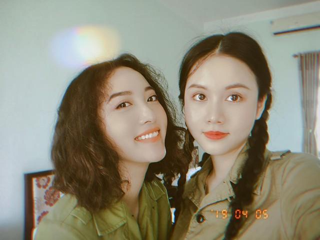 DV Hoàng Mai Anh trầy xước, bầm tím vì vai diễn mới - Ảnh 2.