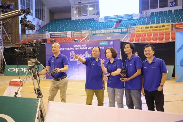 Hình ảnh vòng chung kết Robocon Việt Nam 2019 trước giờ G - Ảnh 1.