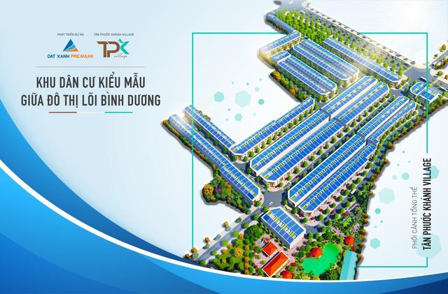 Tân Phước Khánh Village - Khu dân cư kiểu mẫu đầu tiên tại Tân Phước Khánh - Ảnh 1.