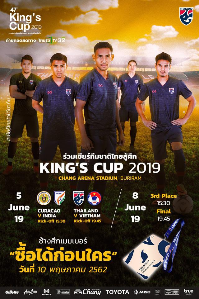 CHÍNH THỨC: ĐT Việt Nam gặp ĐT Thái Lan tại Kings Cup 2019 - Ảnh 2.