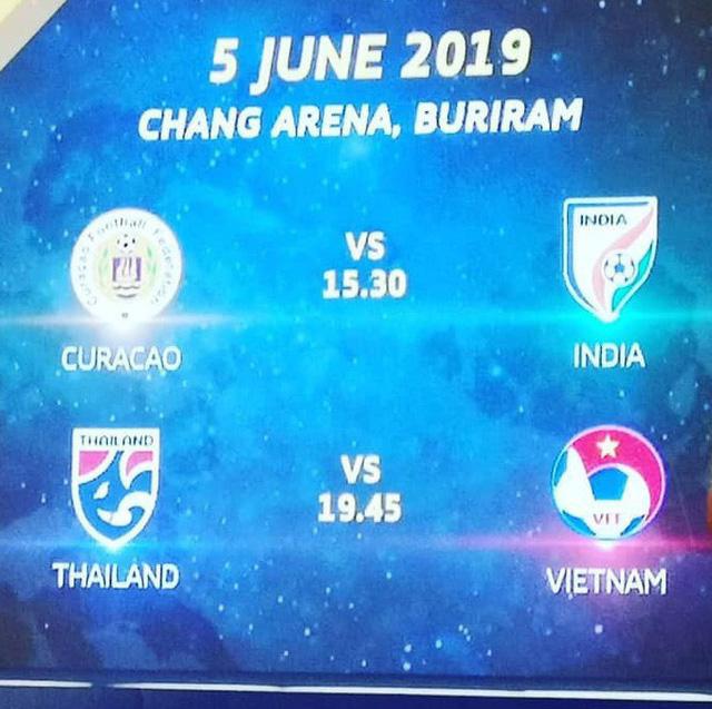 CHÍNH THỨC: ĐT Việt Nam gặp ĐT Thái Lan tại Kings Cup 2019 - Ảnh 1.
