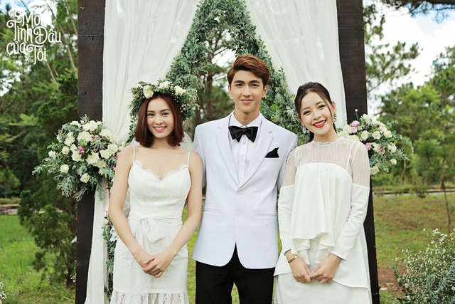 Bộ ảnh cưới đẹp mê mẩn của An Chi - Nam Phong trong Mối tình đầu của tôi - Ảnh 10.