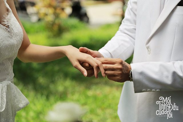 Bộ ảnh cưới đẹp mê mẩn của An Chi - Nam Phong trong Mối tình đầu của tôi - Ảnh 2.
