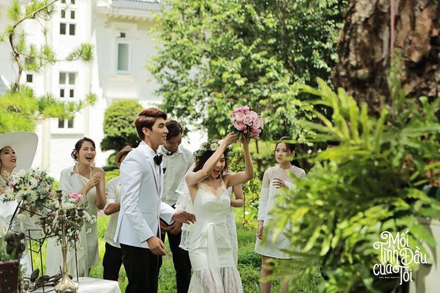 Bộ ảnh cưới đẹp mê mẩn của An Chi - Nam Phong trong Mối tình đầu của tôi - Ảnh 15.