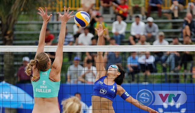 Ảnh: Những khoảnh khắc ấn tượng tại giải bóng chuyền bãi biển nữ thế giới Tuần Châu - Hạ Long 2019 ngày 09/5 - Ảnh 13.