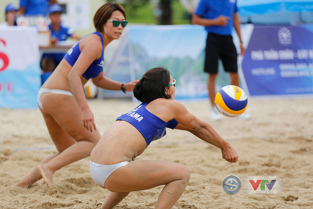 Ảnh: Những khoảnh khắc ấn tượng tại giải bóng chuyền bãi biển nữ thế giới Tuần Châu - Hạ Long 2019 ngày 09/5 - Ảnh 11.