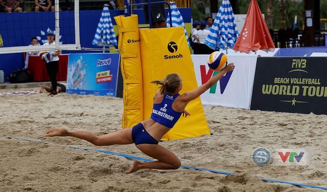 Ảnh: Những khoảnh khắc ấn tượng tại giải bóng chuyền bãi biển nữ thế giới Tuần Châu - Hạ Long 2019 ngày 09/5 - Ảnh 19.