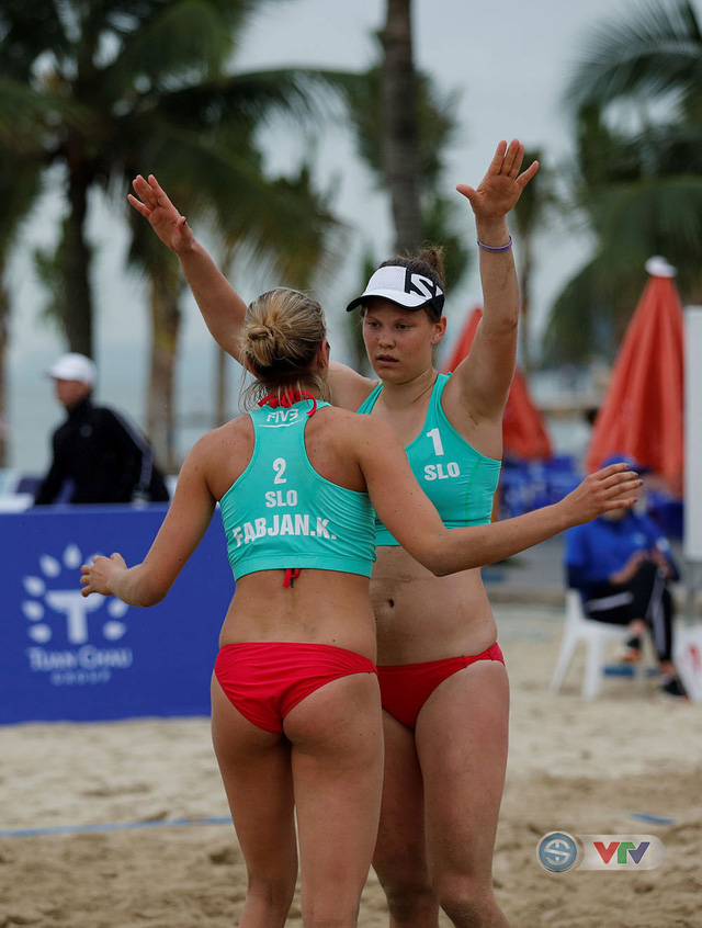 Ảnh: Những khoảnh khắc ấn tượng tại giải bóng chuyền bãi biển nữ thế giới Tuần Châu - Hạ Long 2019 ngày 09/5 - Ảnh 21.