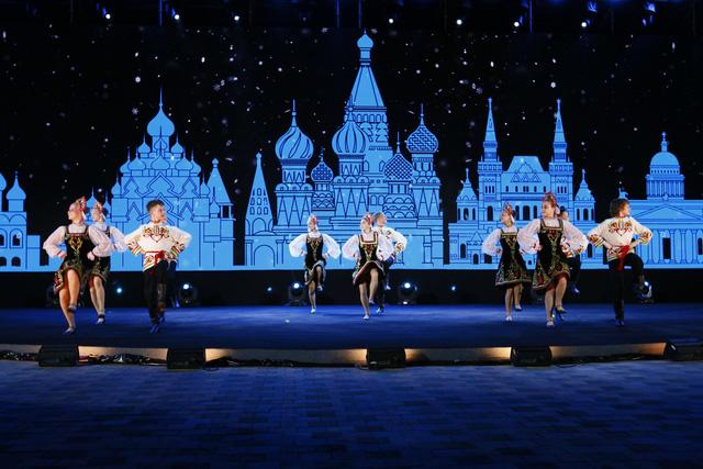 Liên hoan thiếu nhi thế giới VTV 2019: Rộn rã đêm Gala Sắc màu văn hoá bốn phương - Ảnh 3.