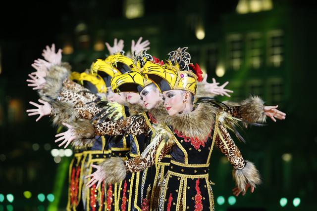 Liên hoan thiếu nhi thế giới VTV 2019: Rộn rã đêm Gala Sắc màu văn hoá bốn phương - Ảnh 8.