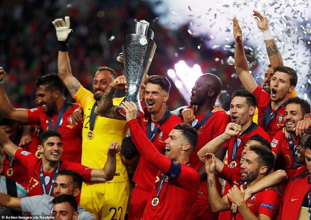 Thắng tối thiểu Hà Lan, Bồ Đào Nha lần đầu vô địch UEFA Nations League - Ảnh 4.