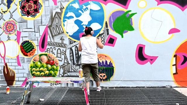 Sáng tạo với nghệ thuật graffity - Ảnh 4.