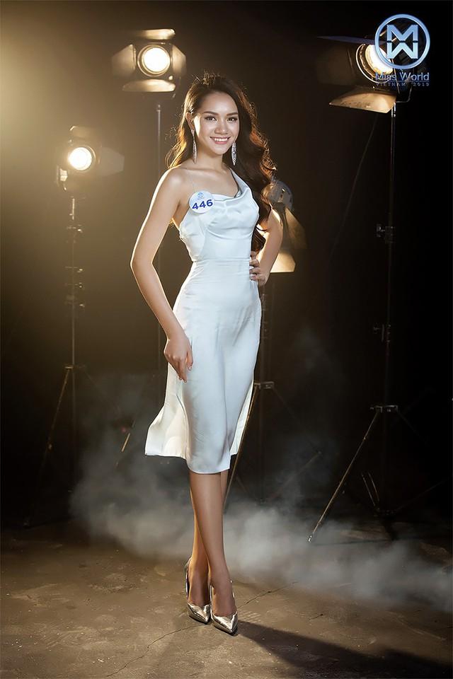 34 thí sinh Miss World Việt Nam 2019 đọ sắc trong đầm cocktail - Ảnh 4.