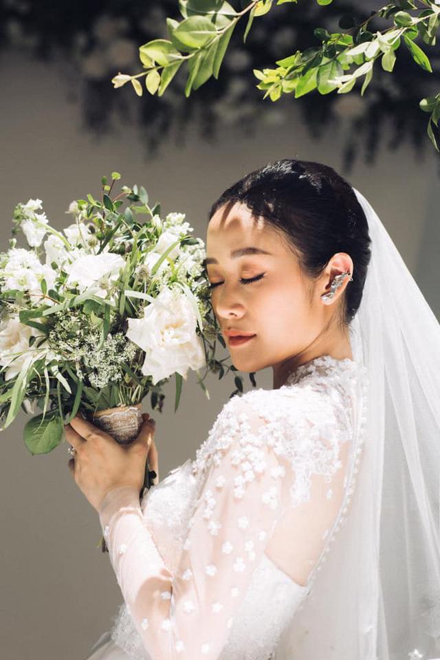 MC Phí Linh khoe ảnh cưới, nhẹ nhàng bước chân vào chương mới của cuộc đời - Ảnh 4.