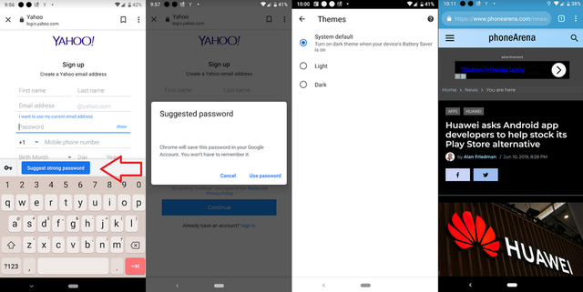 Google Chrome thêm công cụ quản lý mật khẩu trên Android - Ảnh 1.