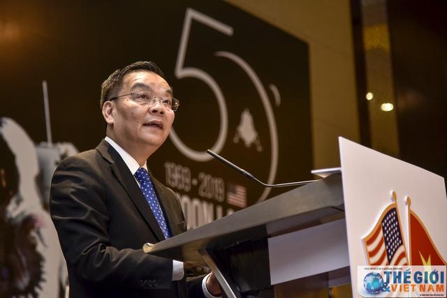 Bộ trưởng Bộ KH&CN Chu Ngọc Anh dự Lễ kỷ niệm Quốc khánh Hoa Kỳ lần thứ 243 - Ảnh 1.