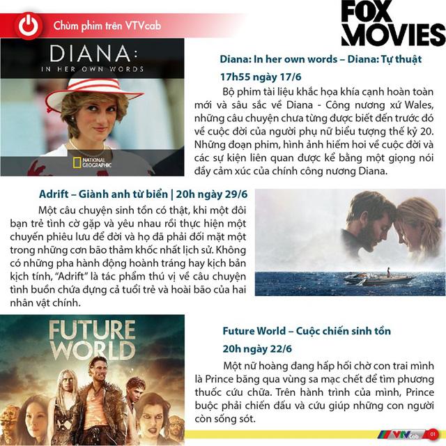 Đừng bỏ lỡ chùm phim bom tấn trên FOX Movies tháng 6 - Ảnh 2.