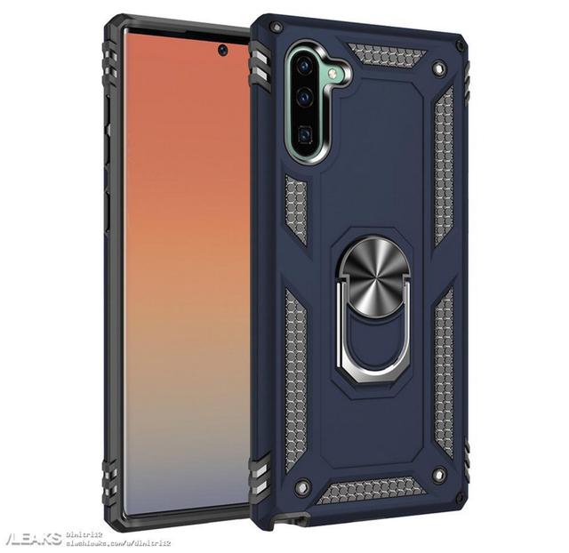 Lộ thiết kế Galaxy Note 10 qua phụ kiện ốp lưng - Ảnh 1.