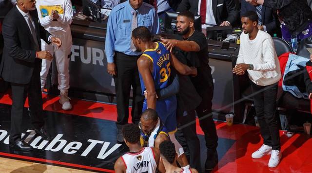 Các ngôi sao NBA phản ứng sau chấn thương của Kevin Durant - Ảnh 1.