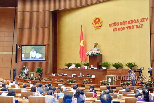 Bộ Quốc phòng đề nghị Quốc hội giữ nguyên tên gọi Luật Lực lượng dự bị động viên - Ảnh 2.