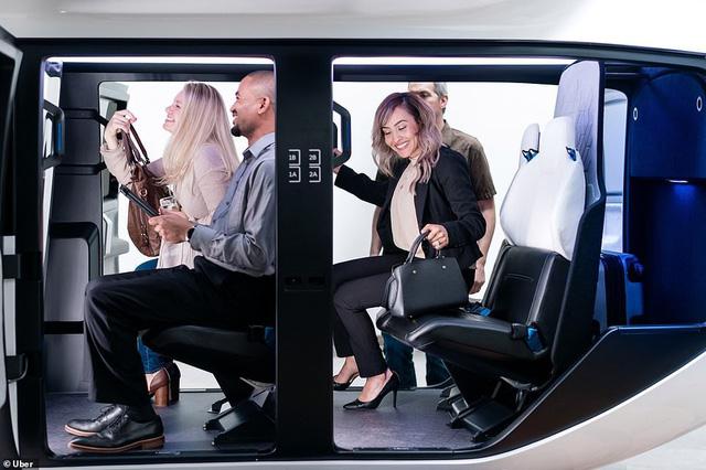Chiêm ngưỡng dịch vụ taxi bay mới của Uber - Ảnh 5.