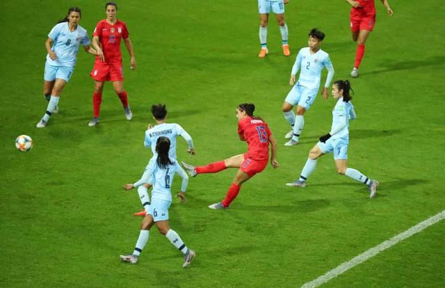 ĐT nữ Thái Lan nhận thất bại đậm nhất lịch sử World Cup - Ảnh 1.