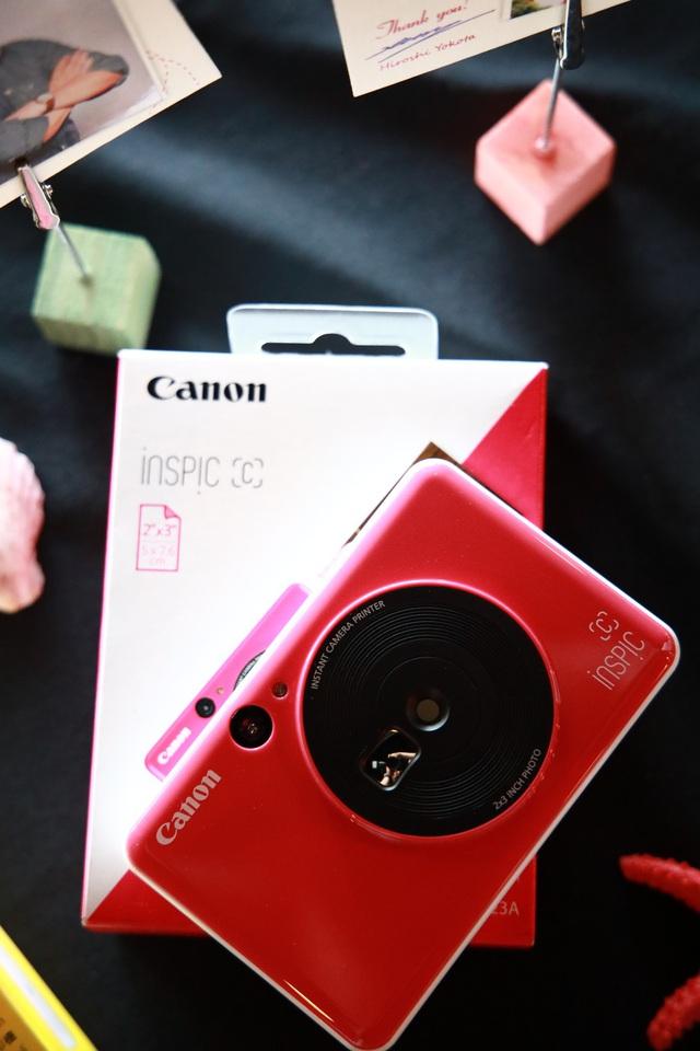 Canon ra mắt hai loại máy ảnh chụp và in ảnh liền - Ảnh 1.