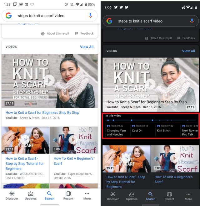 Google cập nhật tính năng mới cho video YouTube - ảnh 1