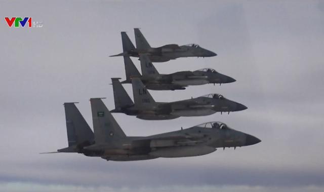 Mỹ - Saudi Arabia diễn tập không quân - Ảnh 1.