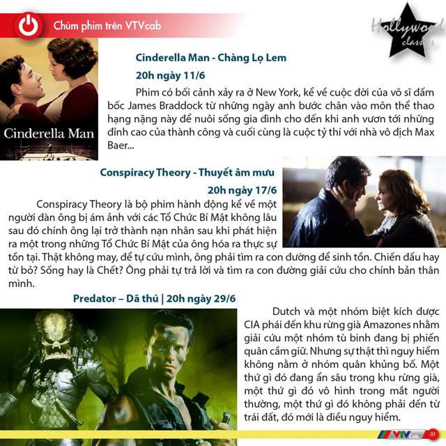 Hấp dẫn các bộ phim nước ngoài trên Hollywood Classic tháng 6 - Ảnh 1.
