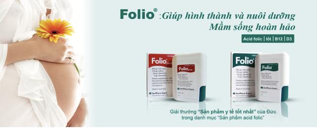 Hướng dẫn Mẹ bầu mua bổ bầu Folio® chính hãng của Đức - Ảnh 1.