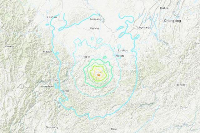 Trung Quốc: Động đất kép làm rung chuyển tỉnh Tứ Xuyên, 6 người chết - Ảnh 1.