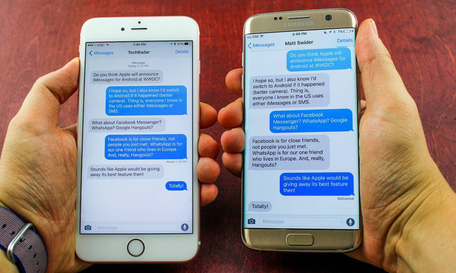 Google ra mắt dịch vụ nhắn tin Chat giống với iMessage trên iPhone - Ảnh 2.