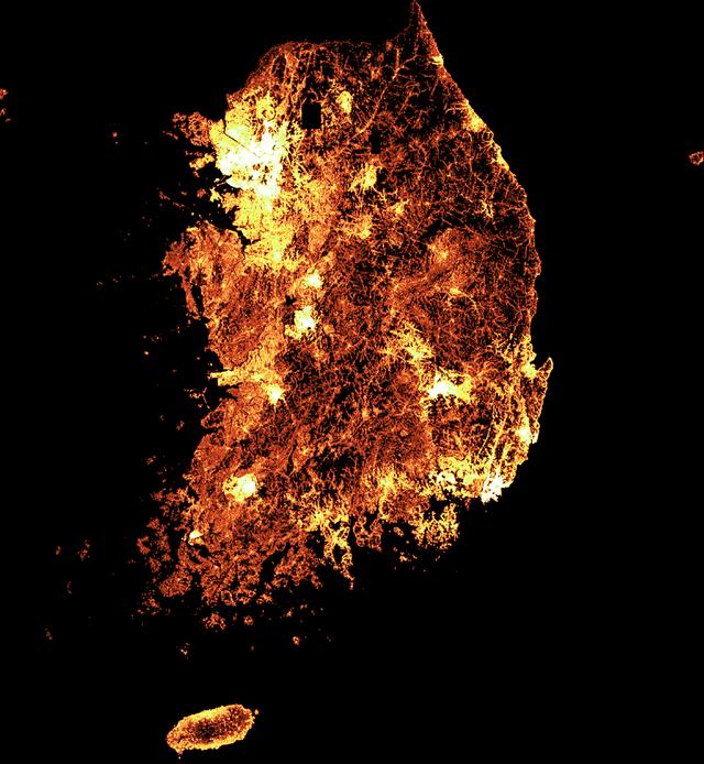 Facebook dùng AI tạo ra bản đồ dân số chi tiết nhất thế giới - Ảnh 1.
