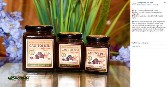 Cẩn trọng với quảng cáo Cao tỏi đen mật ong - Ảnh 1.