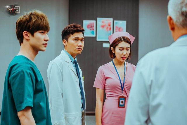 Dũng Bino hoá thân xuất thần trong vai bác sĩ Phan trong phim Bệnh viện thần ái - Ảnh 4.