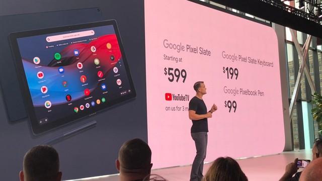 Google tuyên bố đầu hàng với máy tính bảng - Ảnh 2.