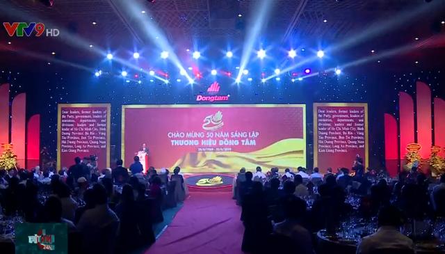 PTTg Trương Hòa Bình dự lễ kỷ niệm 50 năm thành lập tập đoàn Đồng Tâm - Ảnh 1.