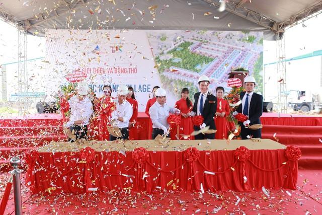 Đất Xanh Premium tổ chức thành công Lễ giới thiệu và động thổ dự án Tân Phước Khánh Village - Ảnh 1.