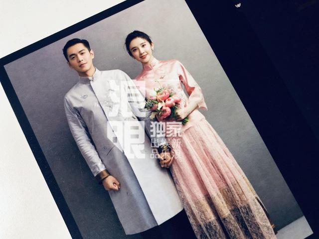 Trương Nhược Quân và Đường Nghệ Hân hé lộ ảnh cưới tuyệt đẹp - Ảnh 4.