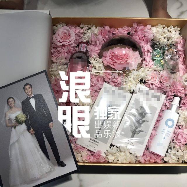 Trương Nhược Quân và Đường Nghệ Hân hé lộ ảnh cưới tuyệt đẹp - Ảnh 1.