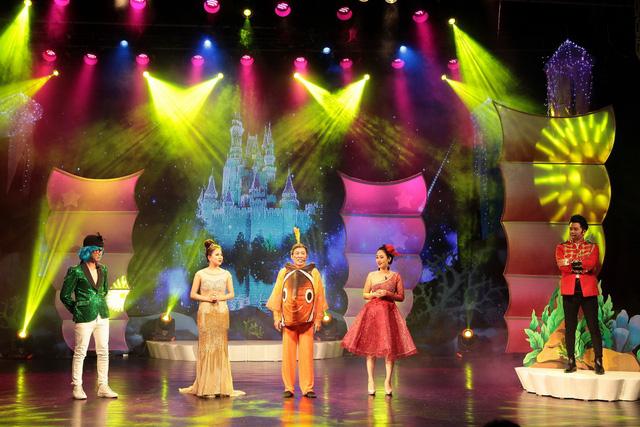 Nhà hát Tuổi trẻ mang Giấc mơ nàng tiên cá đến khán giả nhí tại TP.HCM - Ảnh 1.