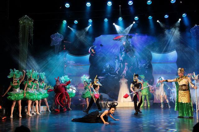 Nhà hát Tuổi trẻ mang Giấc mơ nàng tiên cá đến khán giả nhí tại TP.HCM - Ảnh 2.