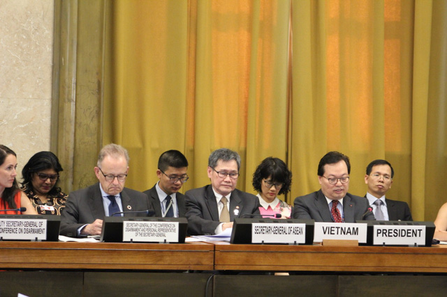 Việt Nam đảm nhiệm vai trò Chủ tịch Hội nghị Giải trừ quân bị năm 2019 - Ảnh 2.